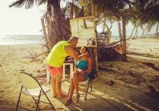 Cъемка на пляже в Доминикане