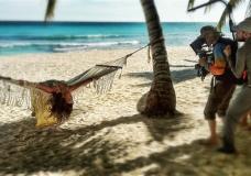 Zara на пляже Доминиканы
